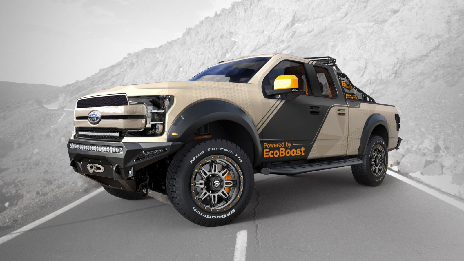 2018 Ford F-150 Lariat SuperCrew created by CJ Pony Parts