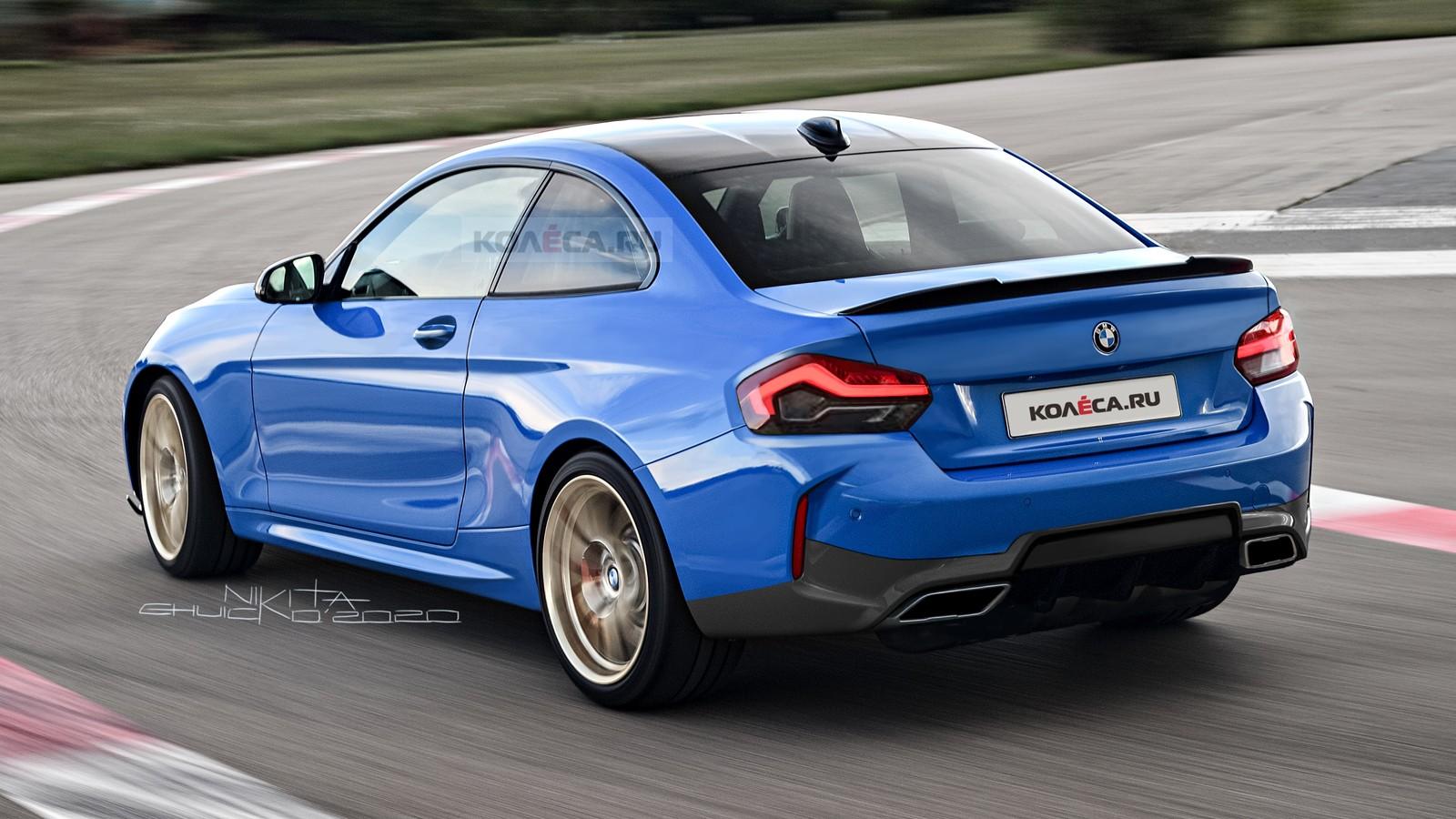 Новое купе BMW 2 серии G42: первые изображения