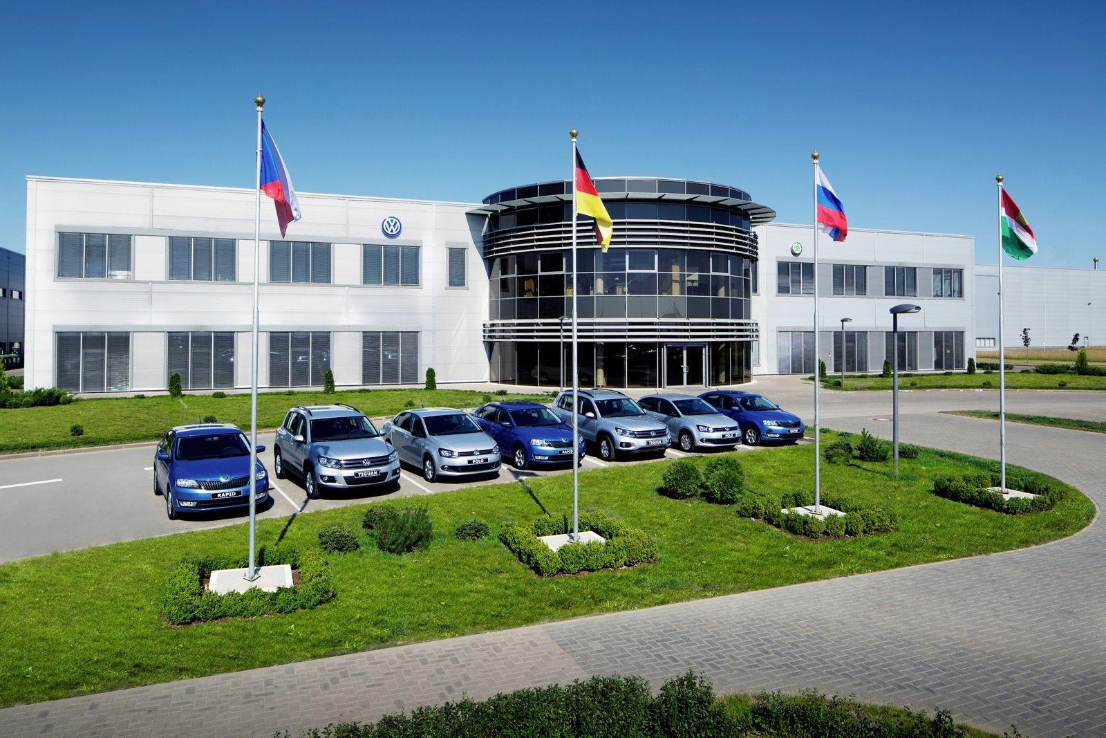 Volkswagen Group Rus Werk Kaluga Russland