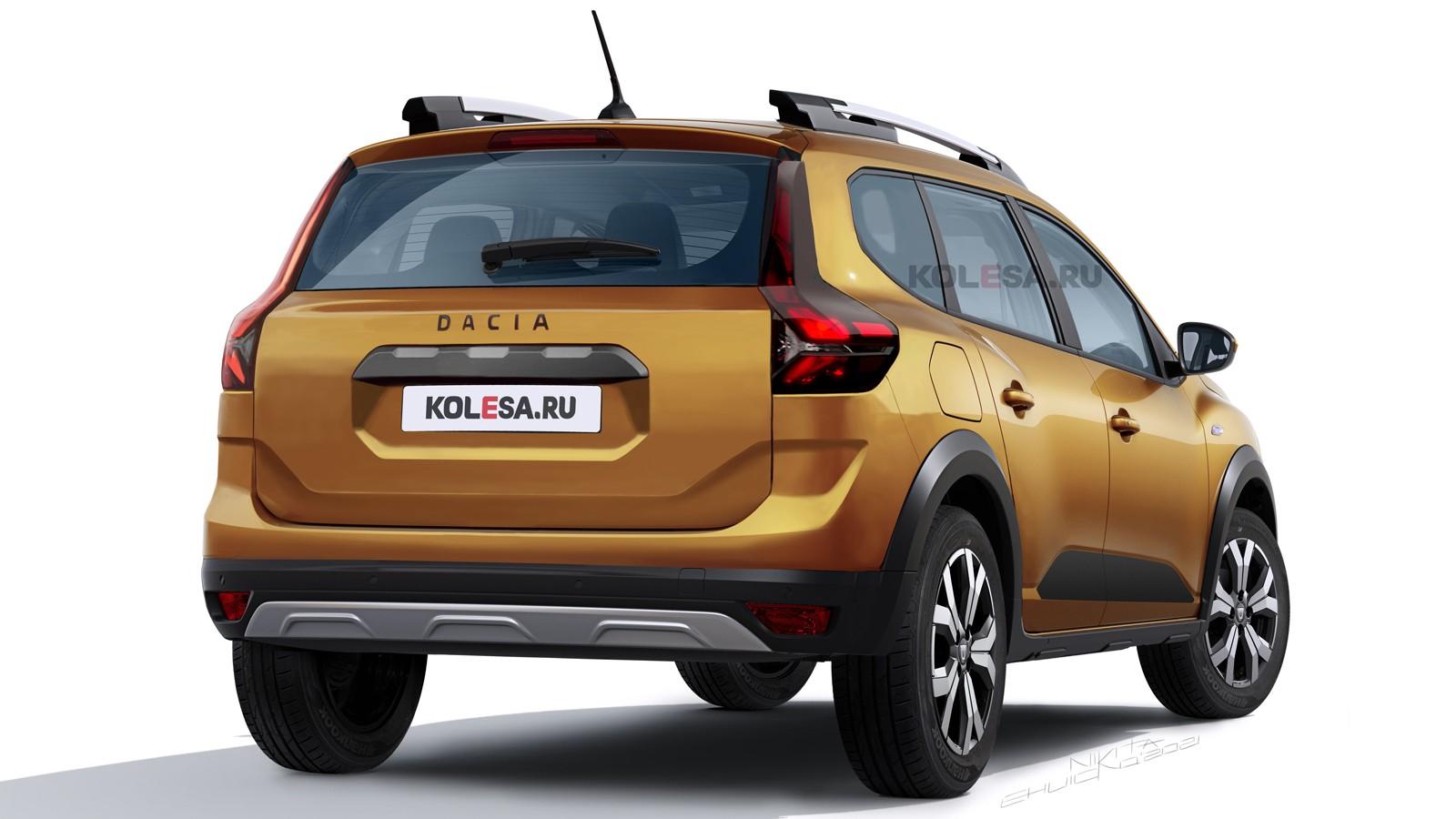 Кросс-универсал Dacia Jogger: новые изображения