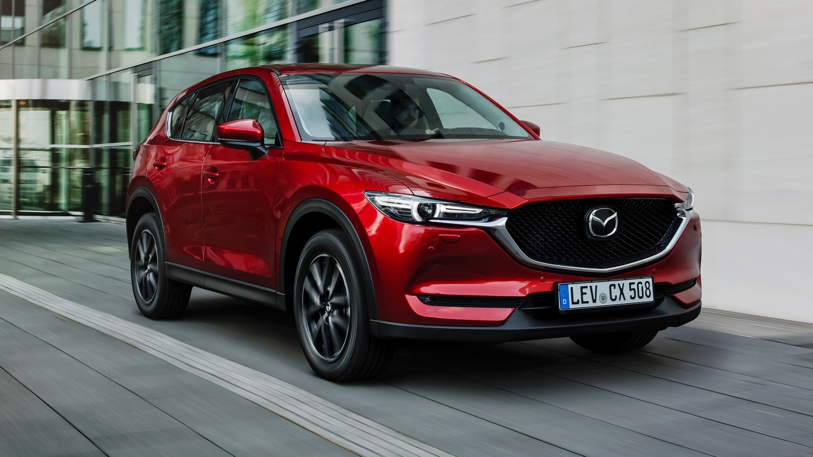 Mazda CX-5 Worldwide '2017–н.в.