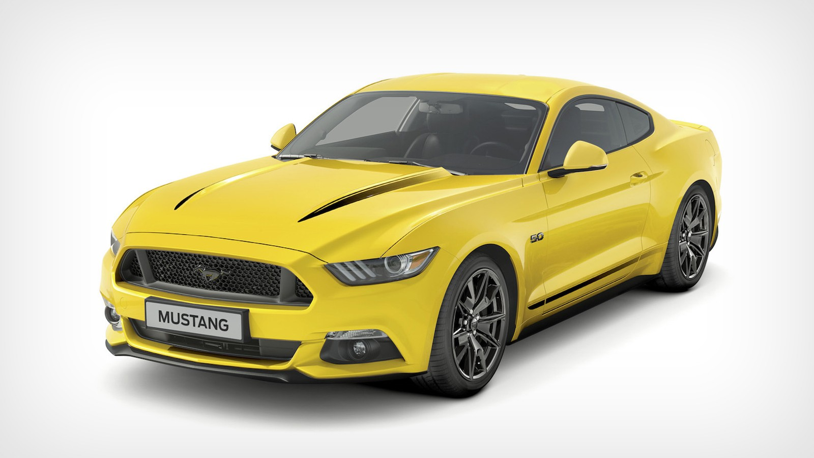 На фото: Ford Mustang Black Shadow Edition