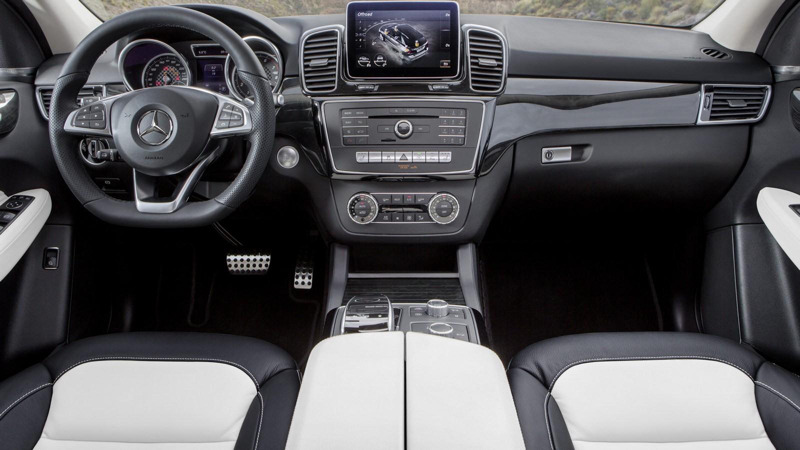 Mercedes-Benz GLE текущего поколения (W166)