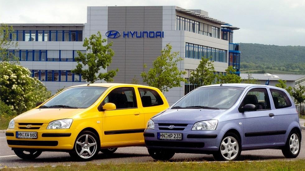 Hyundai Getz трехдверные