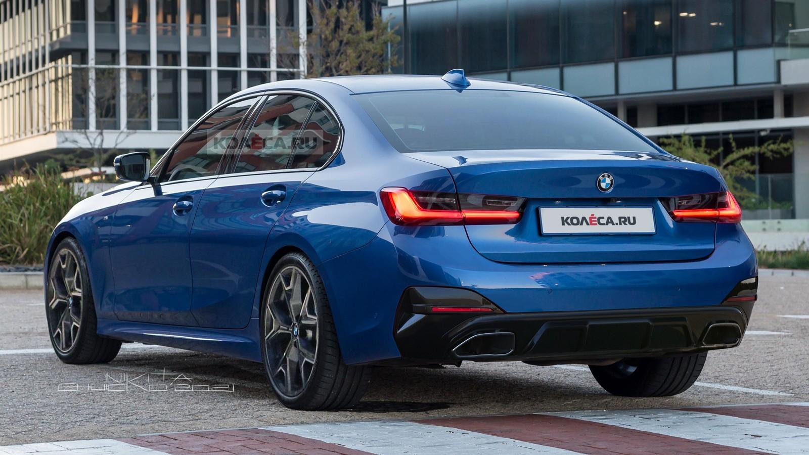 Обновлённый BMW 3 серии (G20): первые изображения