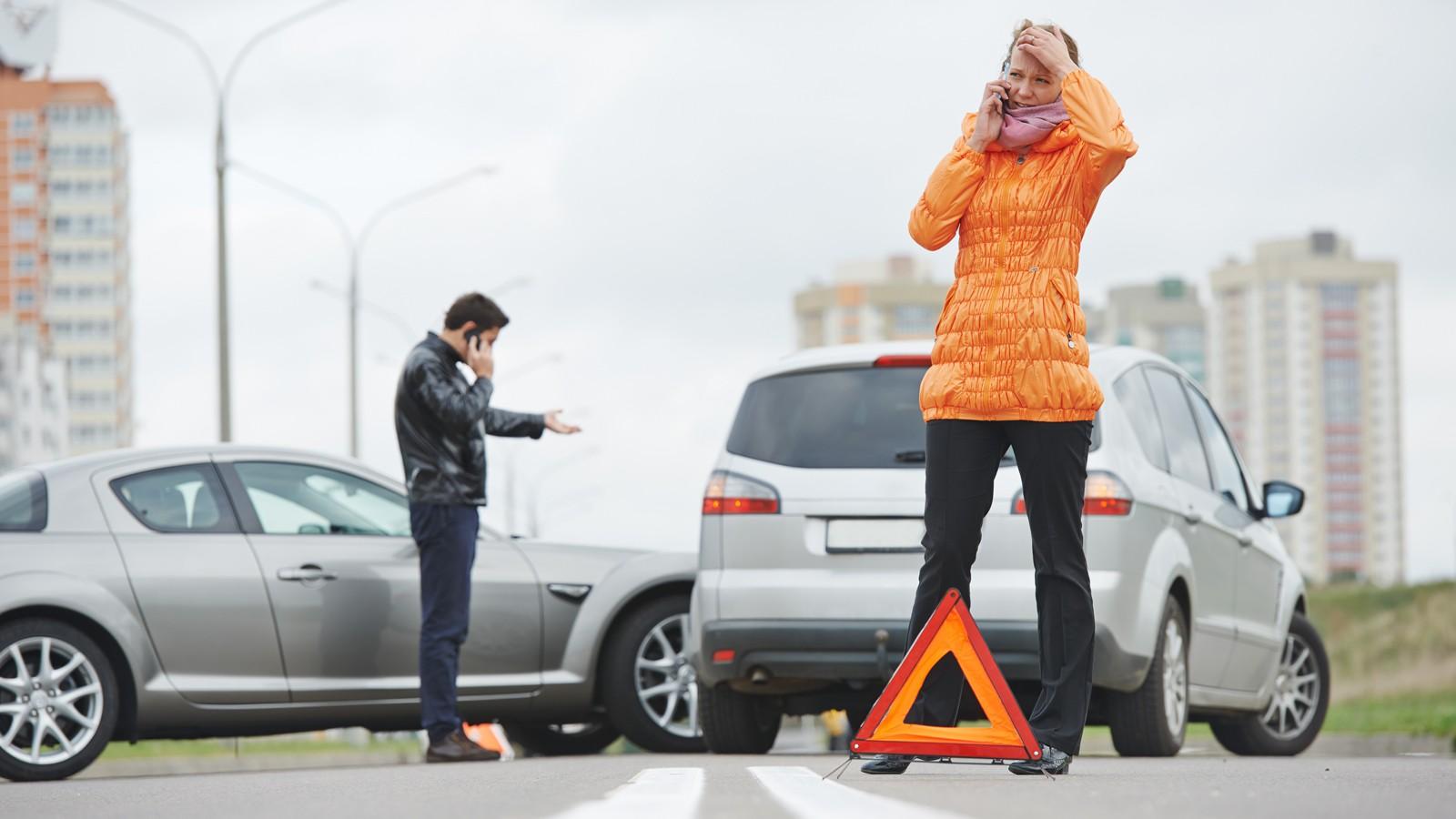 car crash collision