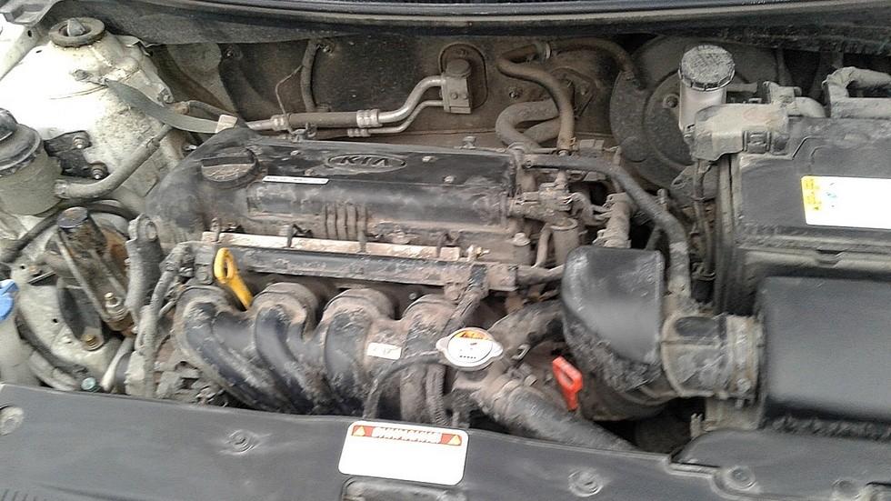 Kia Rio двигатель