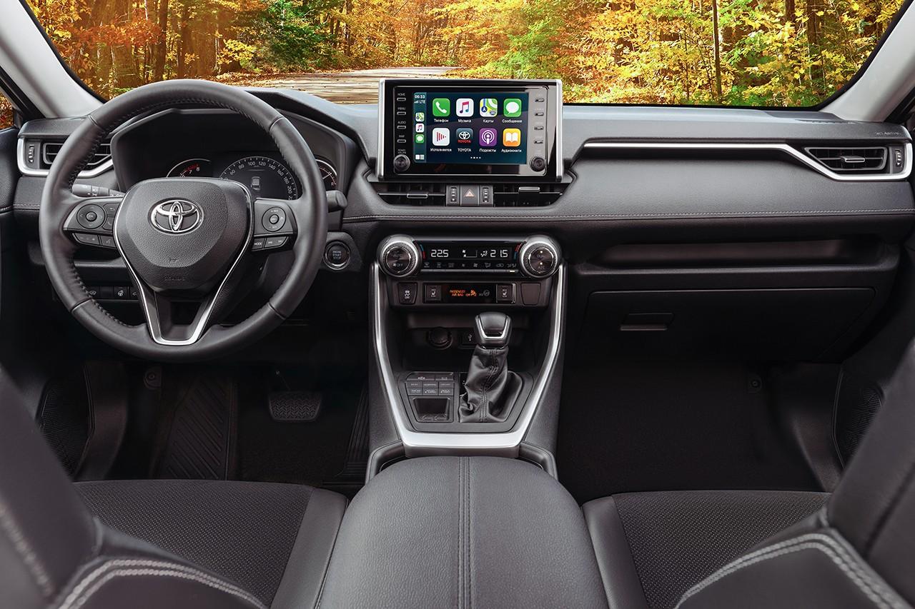 Toyota RAV4 в РФ: теперь с двухцветным кузовом и новым вариантом отделки салона