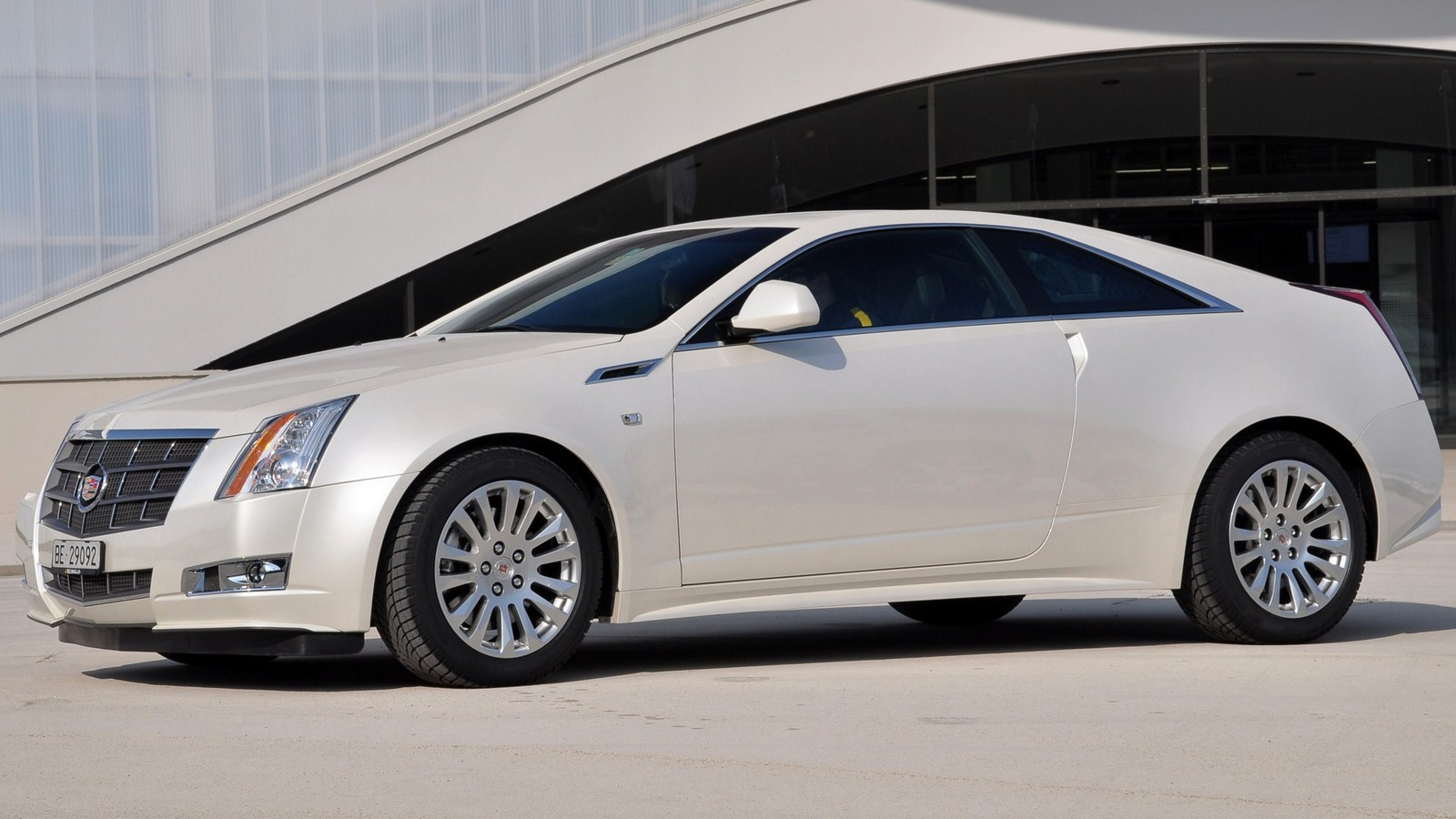 Cadillac CTS Coupe Worldwide '2010–11