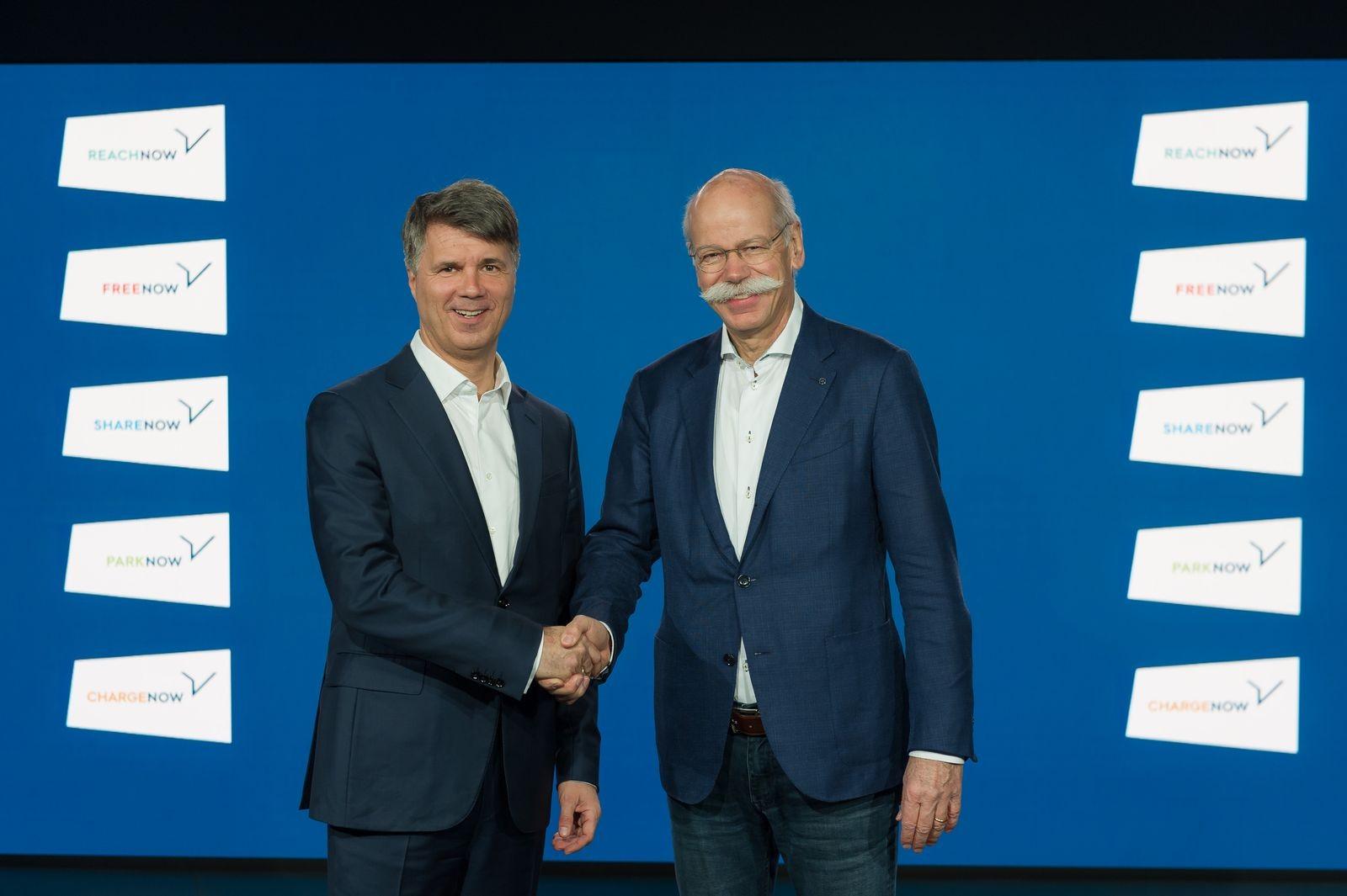 Дружба титанов: в феврале этого года Харальд Крюгер и Дитер Цетше объявили о том, что BMW и Daimler начинают полномасштабное сотрудничество в области беспилотников — ещё одна сладостная для маркетологов, но раздражающая инженеров тема.