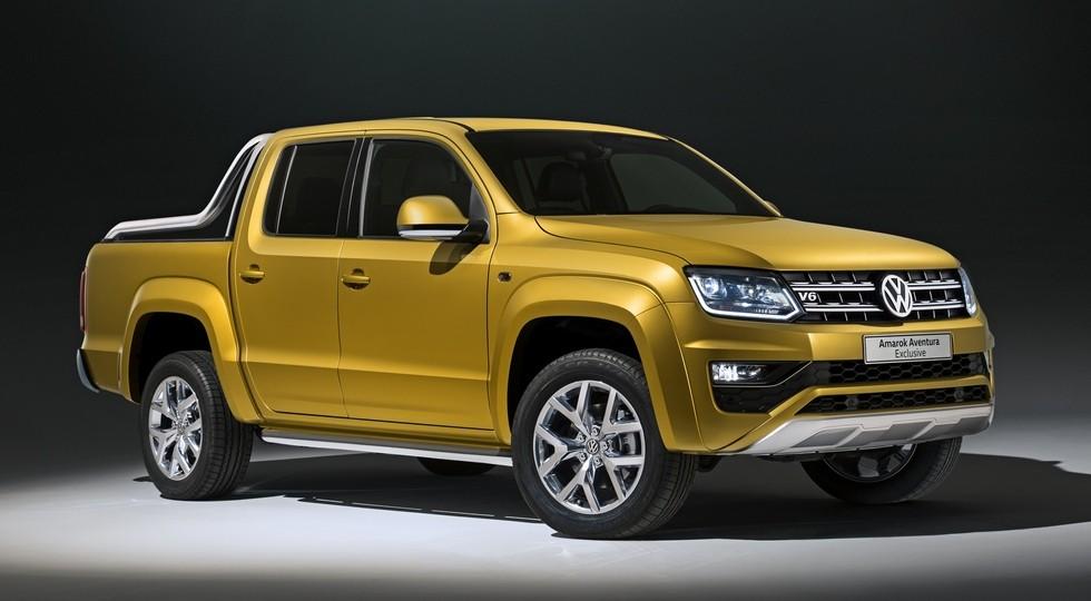 На фото: концепт Volkswagen Amarok Aventura Exclusive
