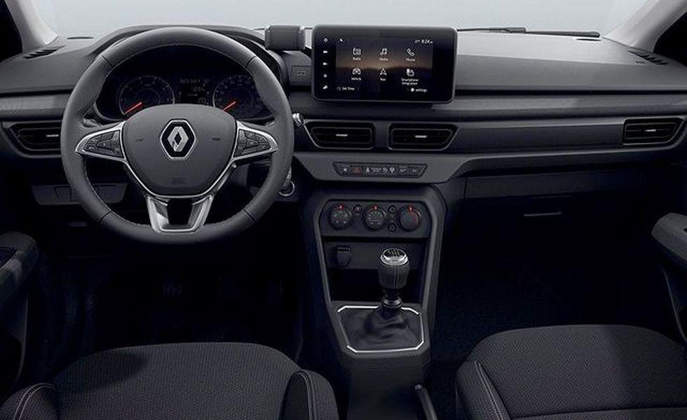 Сменивший имя новый Renault Logan: первые фото салона и подробности