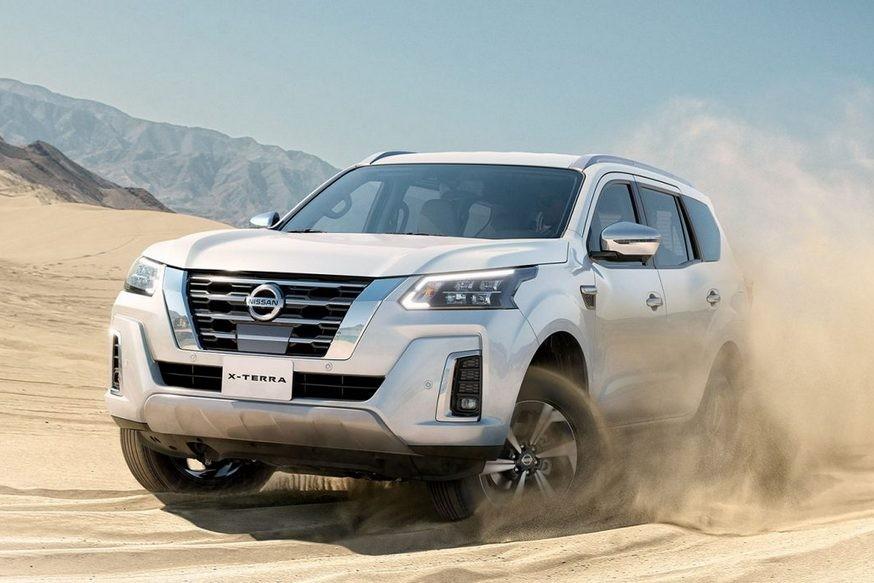 Рамный внедорожник Nissan Terra после рестайлинга обернулся X-Terra: только бензин