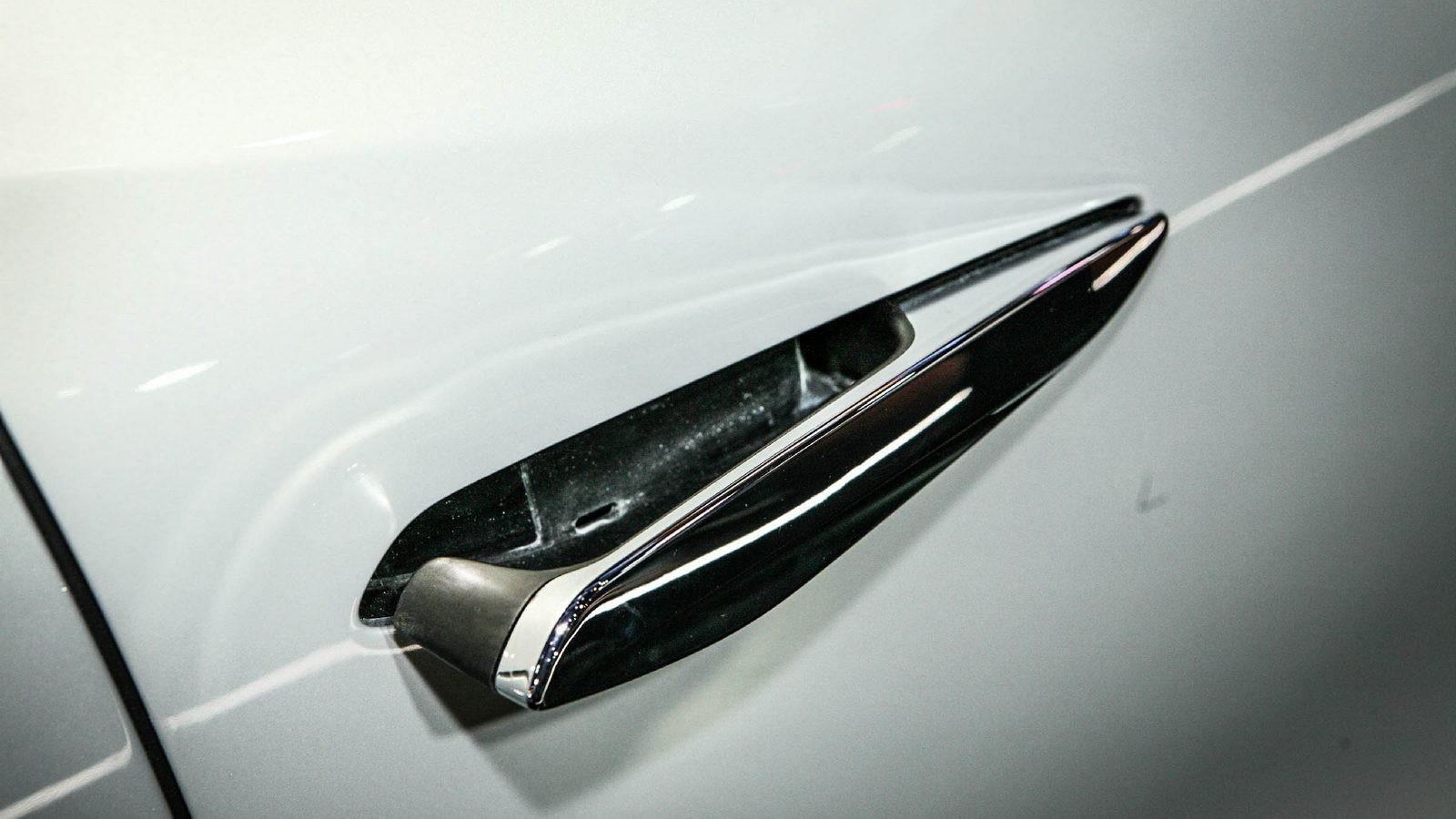 DS3 Crossback белый дверная ручка