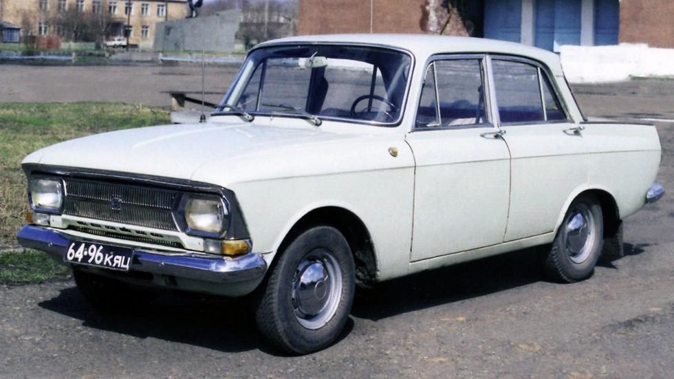 ИЖ Москвич 412 белый вид три четверти