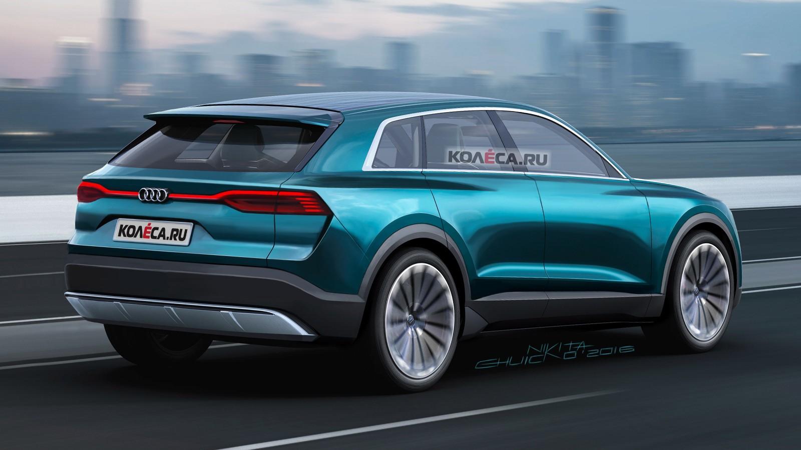 Audi Q8 e-tron rear