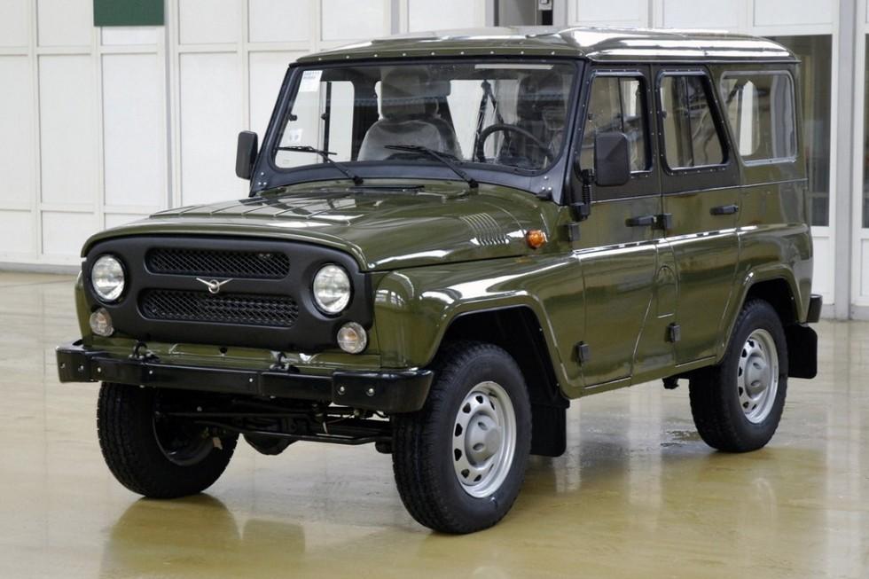 UAZ Hunter (315195) '2010–11