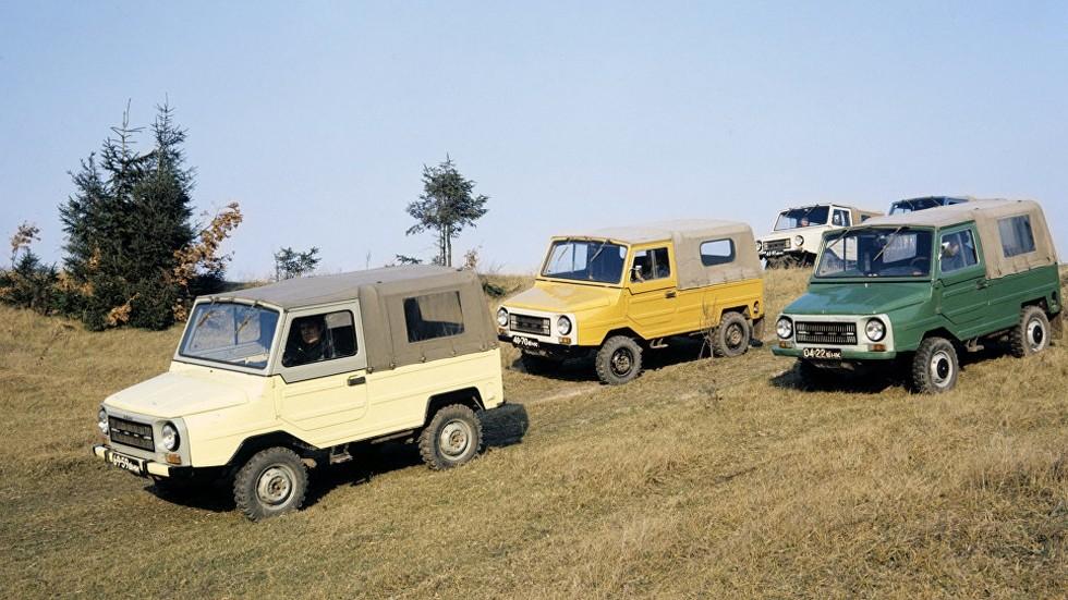 На фото: ЛуАЗ-969M '1979–88