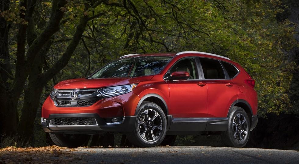 На фото: Honda CR-V нового поколения