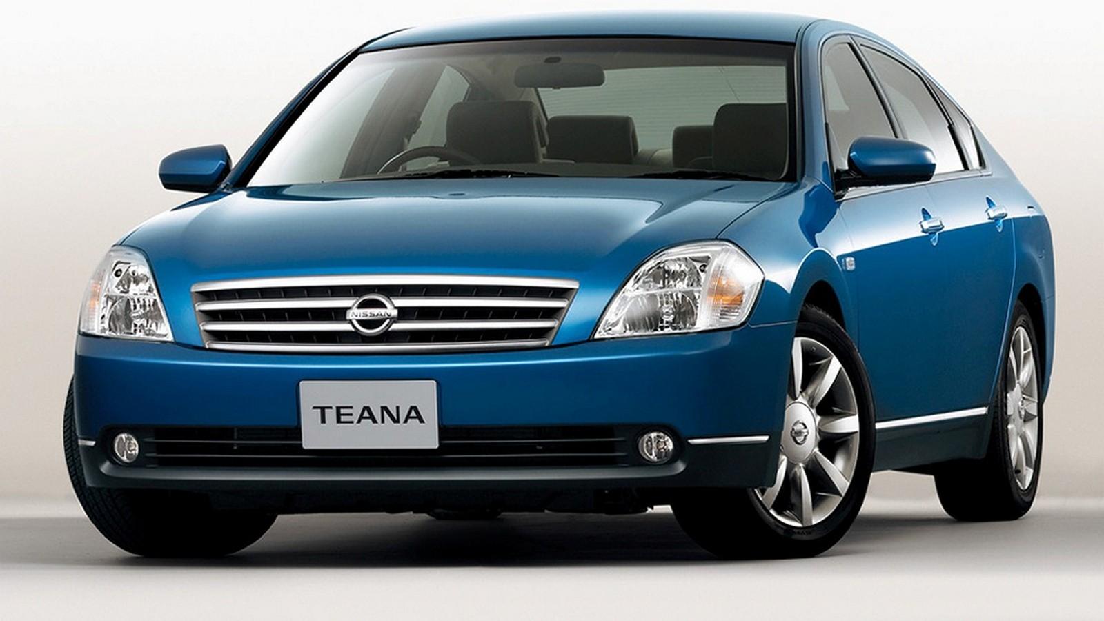 На фото: Nissan Teana (J31) '2003–05