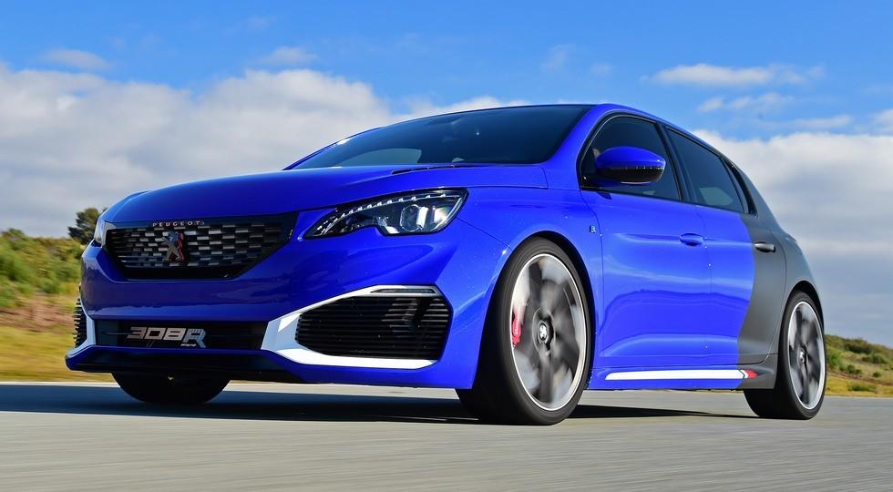 На фото: Peugeot 308 R Hybrid Concept
