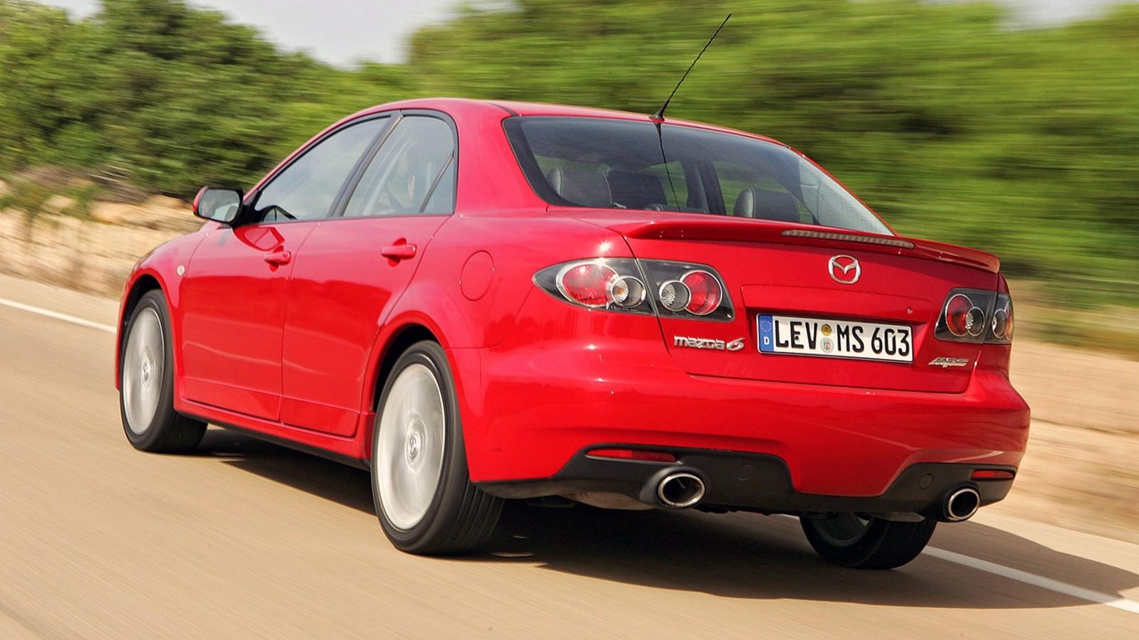 На фото: Mazda6 MPS '2005–07