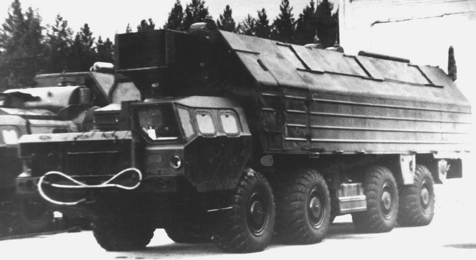 Машина подготовки и пуска в варианте 15В116 для комплекса «Пионер»