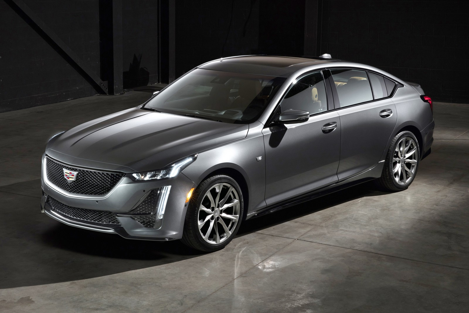 The CT5 Sport showcases Cadillac's unique expertise in craftin