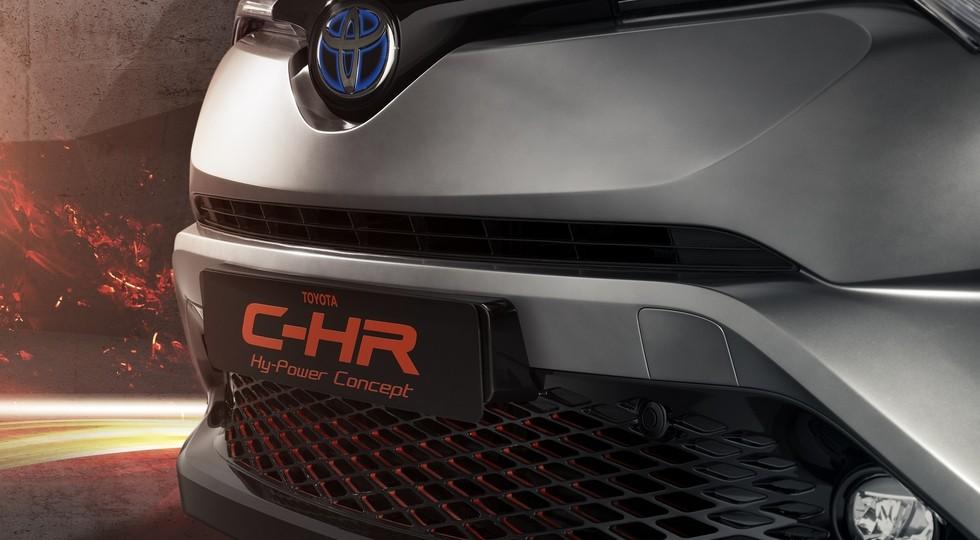На фото: концепт Toyota C-HR Hy-Power