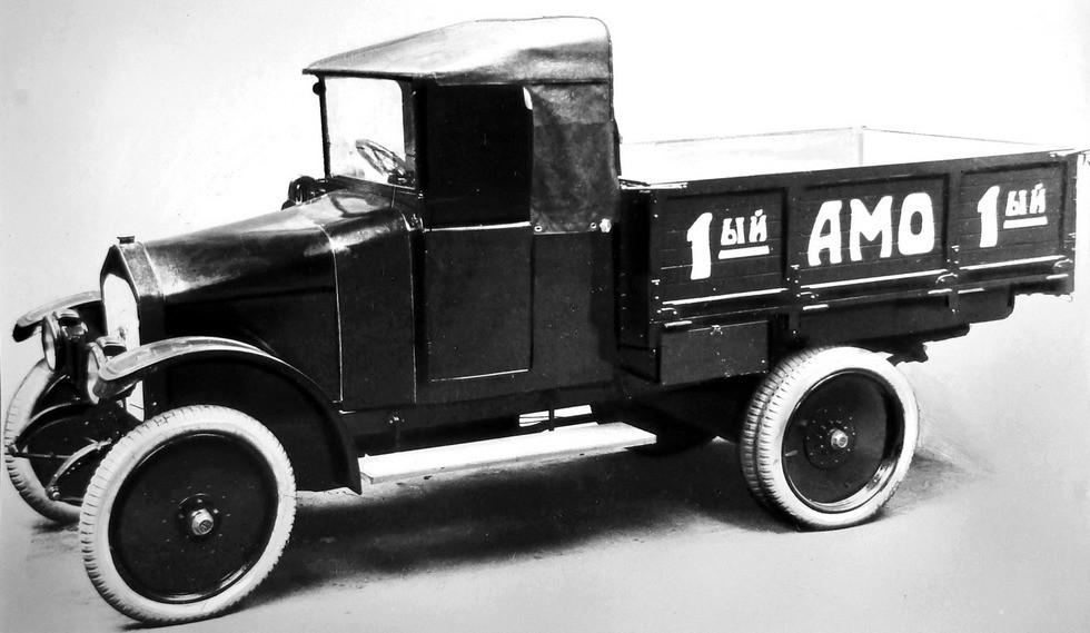 Первый советский грузовой автомобиль АМО-Ф-15 образца 1924 года