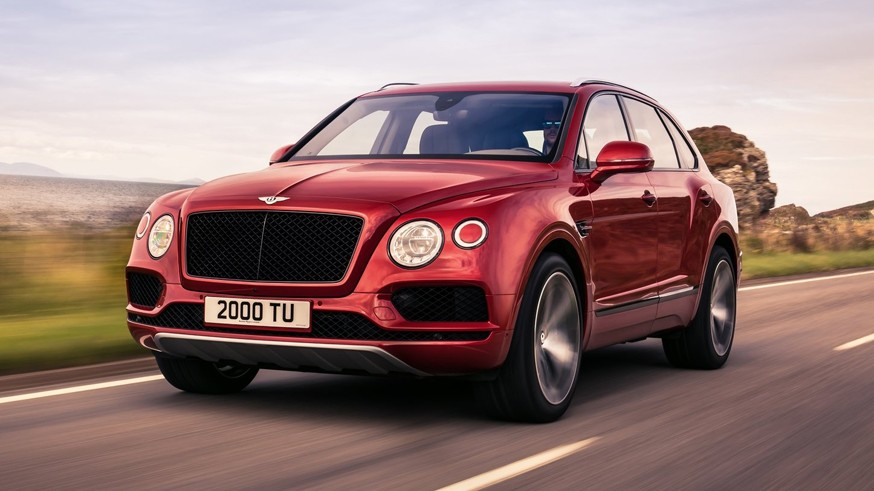 На фото: Bentley Bentayga