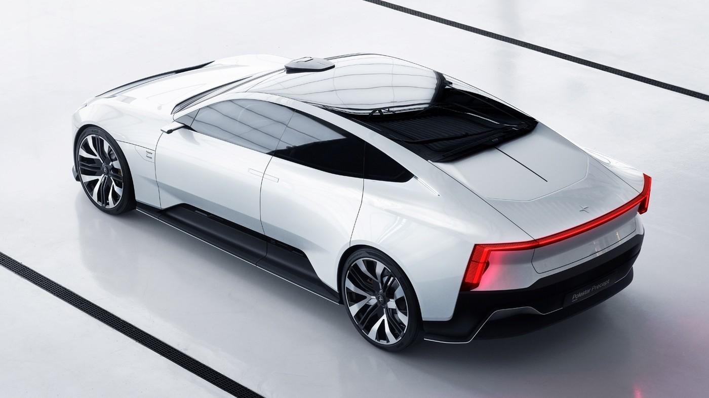 Всё дальше от Volvo: серийный Polestar Precept появится через три года