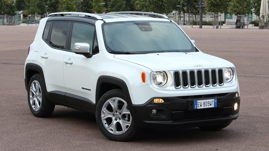 На фото: Jeep Renegade