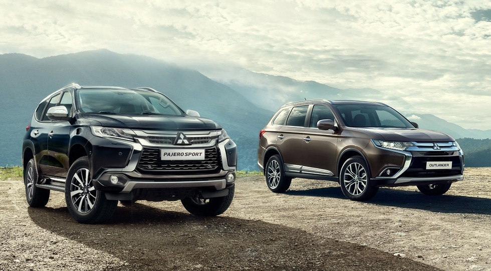 Mitsibishi Outlander and Pajero Sport