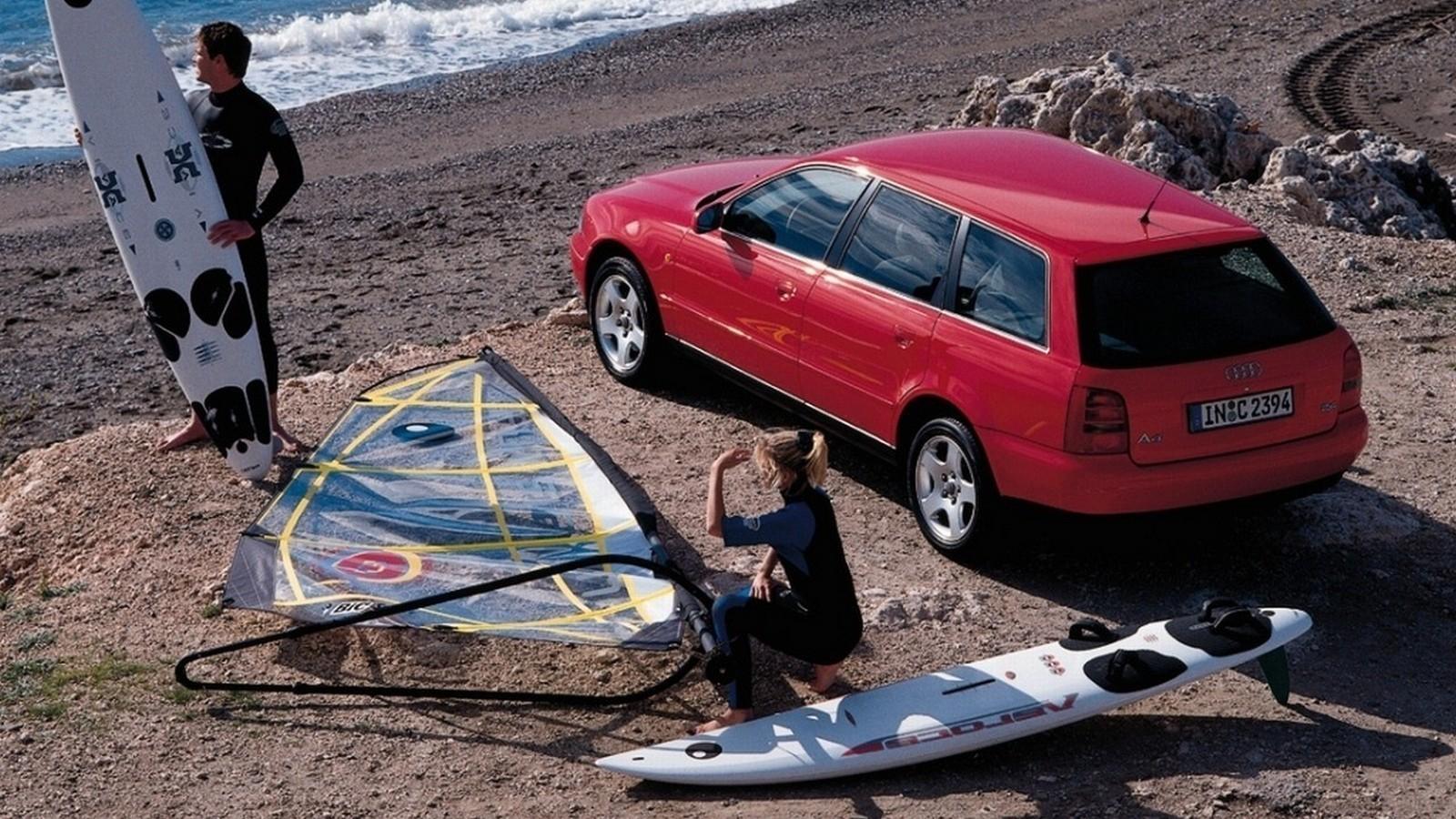 На фото: Audi A4 Avant (B5,8D) '1997–2001