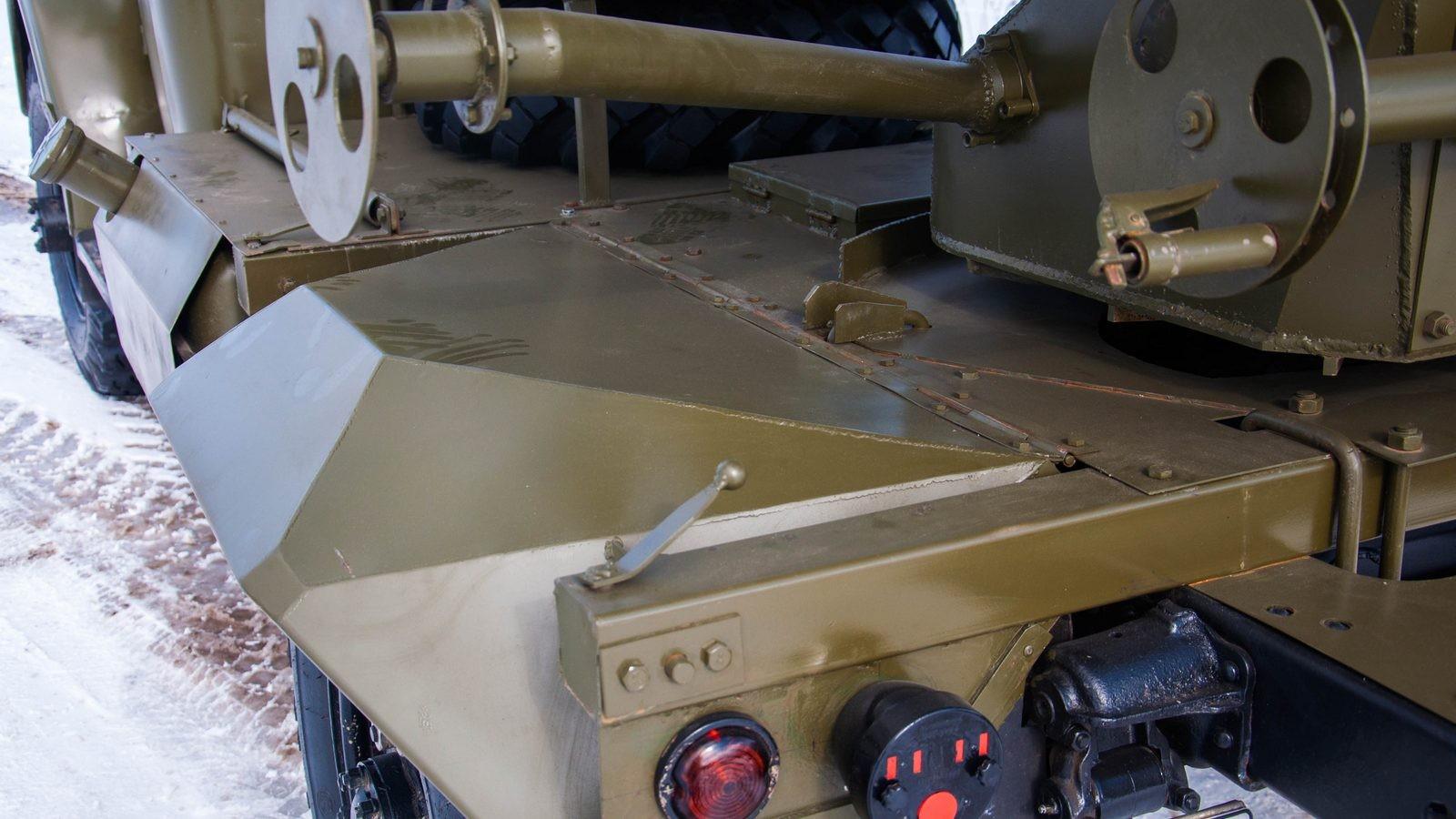 ГАЗ 63 броня