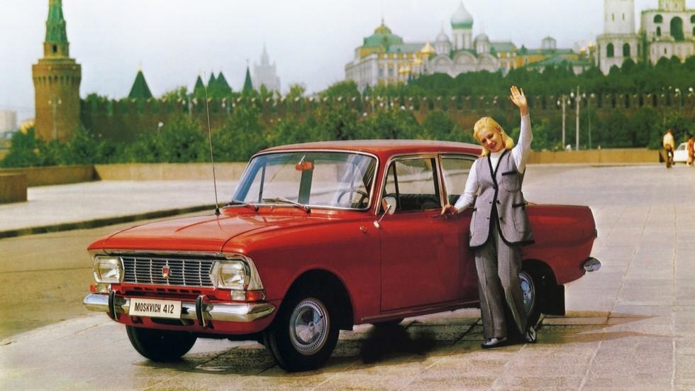 На фото: Москвич-412ИЭ '1969–76