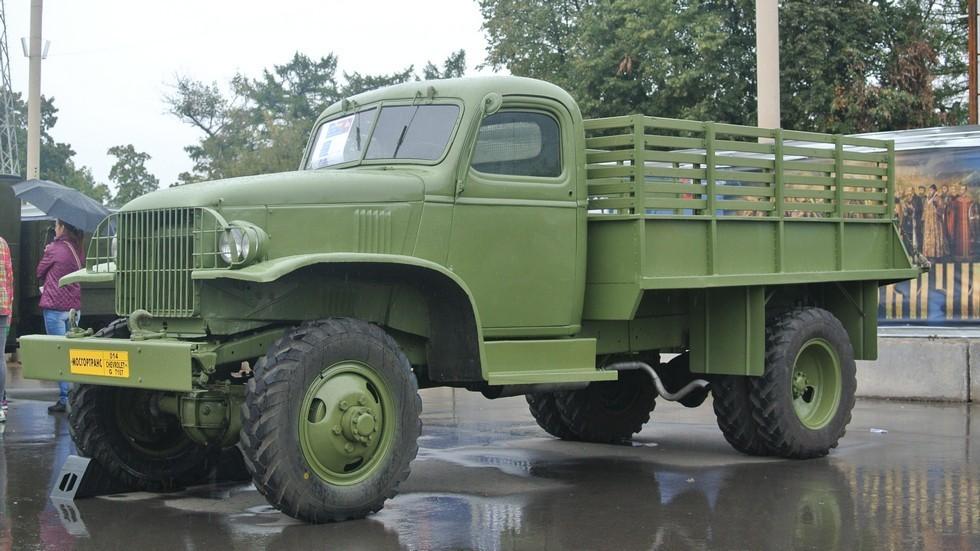 На фото: Chevrolet G7107