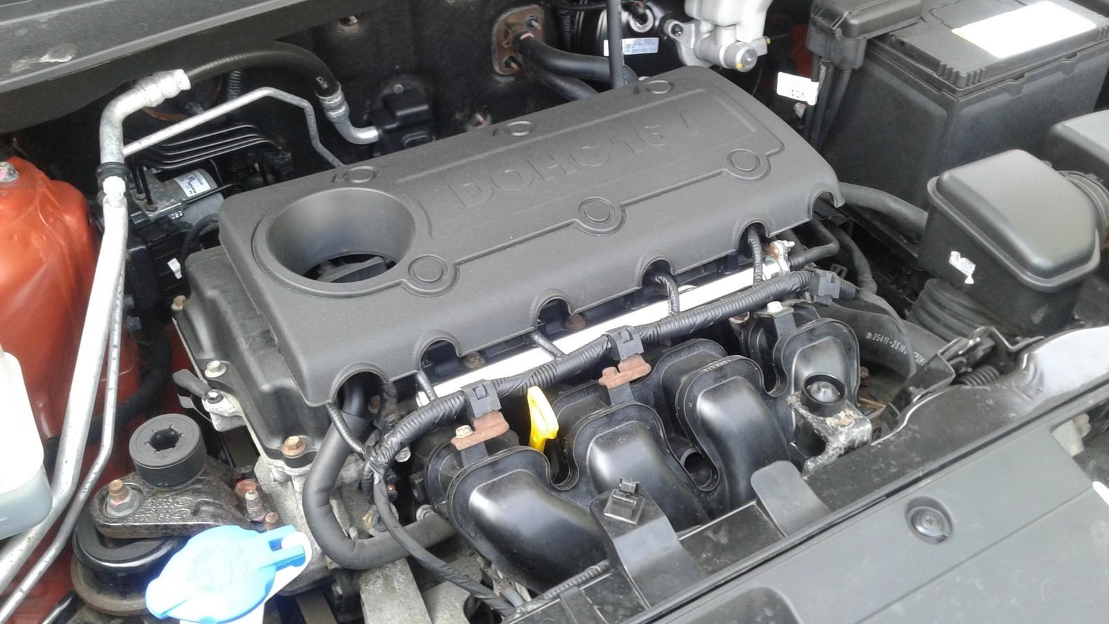 Kia Sportage SL двигатель