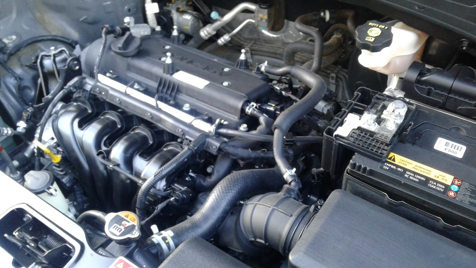 Hyundai Creta двигатель (2)