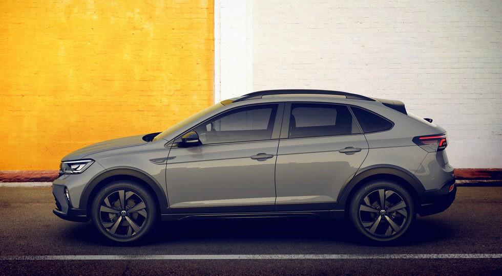 Купеобразный паркетник Volkswagen Taigo сфотографировали без камуфляжа