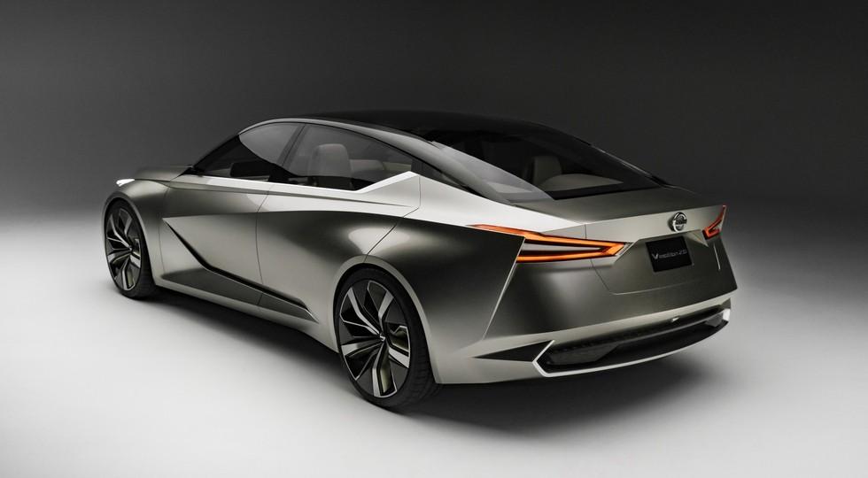 На фото: концепт Nissan Vmotion 2.0. Прототип Vmotion 3.0 может получить похожий дизайн