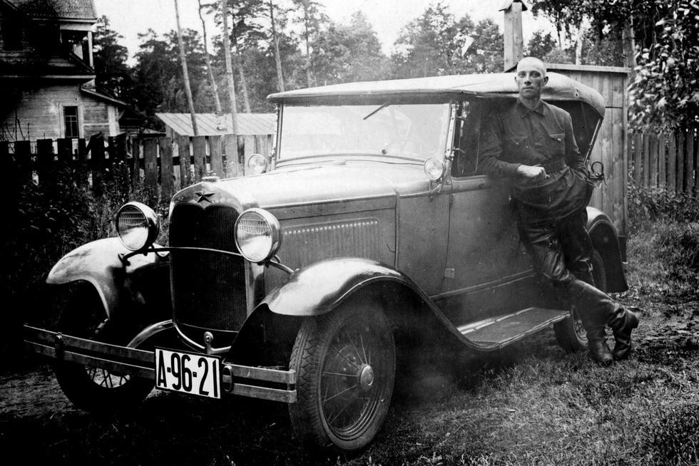 Ford-A в Красной армии