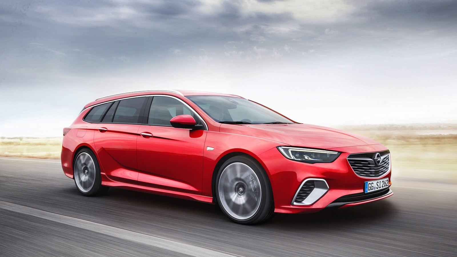 The new Opel Insignia GSi Sports Tourer