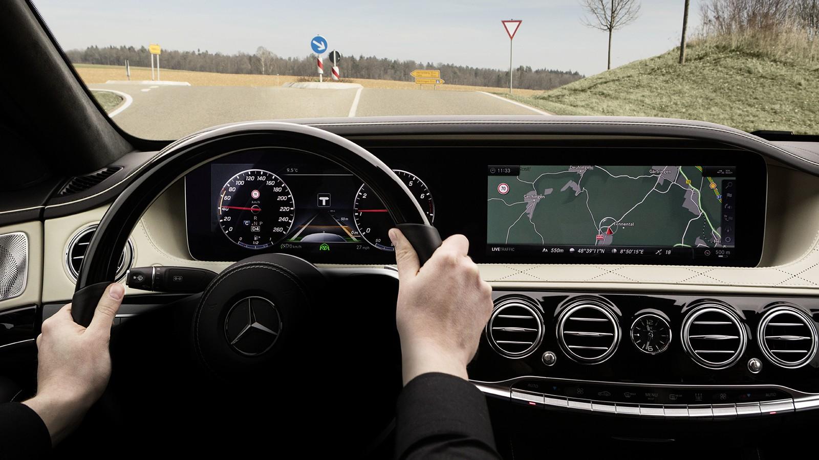 Mercedes-Benz Intelligent Drive in der neuen S-Klasse