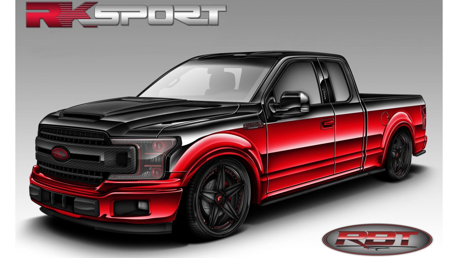 2018 Ford F-150 XLT SuperCab created by RK Sport