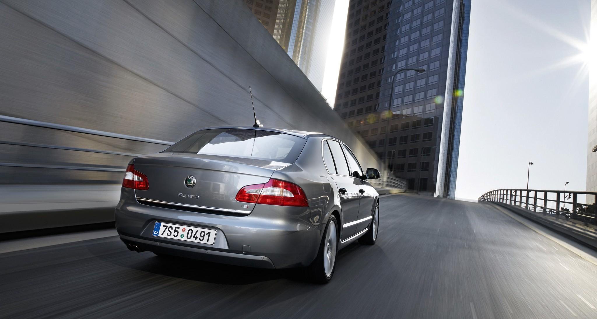 Škoda Superb '2008–13