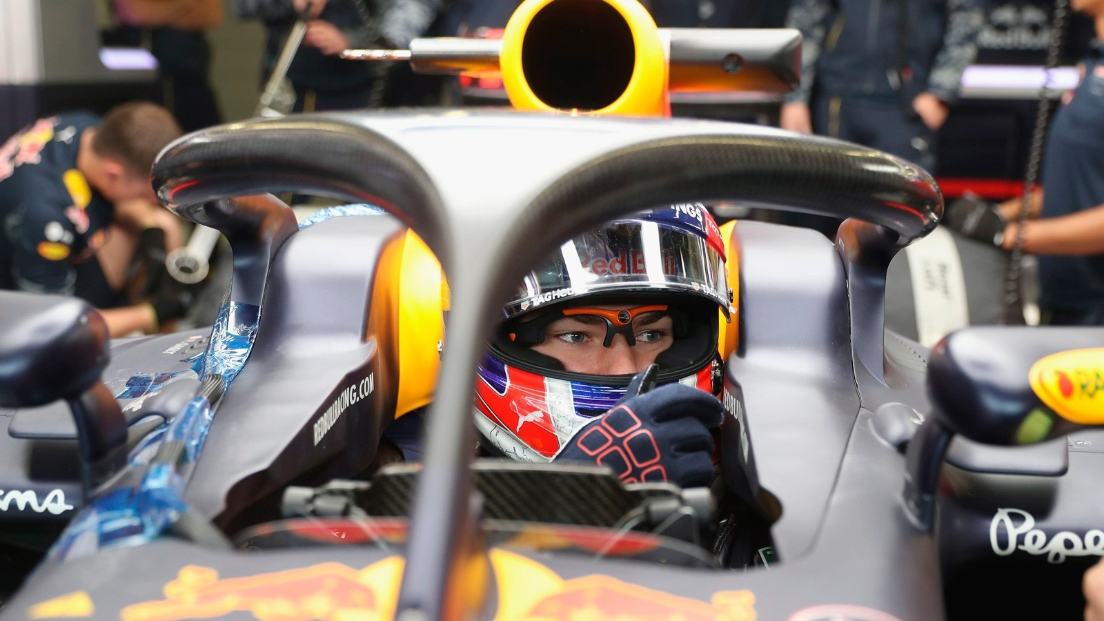 С Halo поработал тест-пилот Red Bull Пьер Гасли