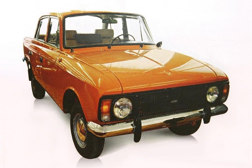 ИЖ 412 Москвич оранжевый