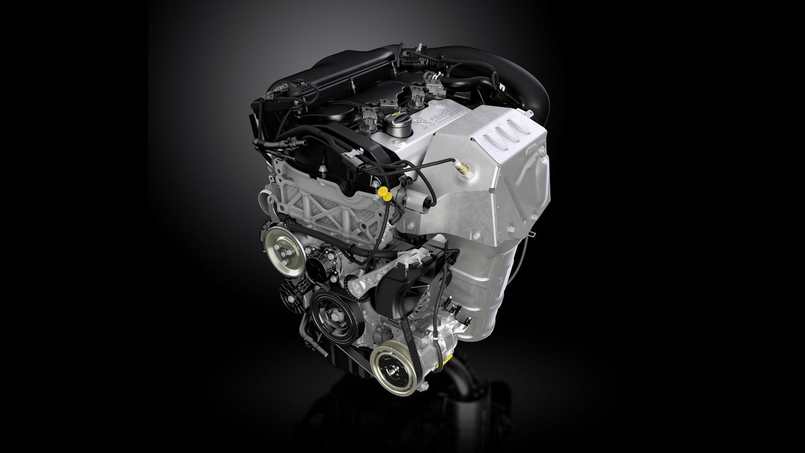 На фото: Двигатель PSA EP6CDTR (Prince engine)